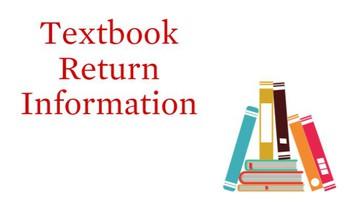 REturn your textbooks!