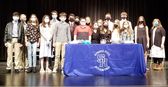 8th Grade National Honor Society Students