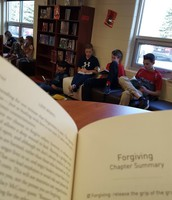 Reading with the 6th graders