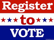 REGISTRATION DEADLINE: October 10, 2017 for November Election