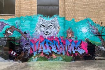 Courtyard Artwork