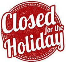 CASY OFFICE WILL BE CLOSED: