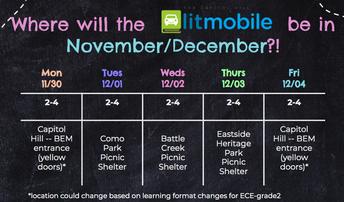 litmobile Schedule!