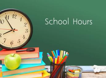 New School Hours