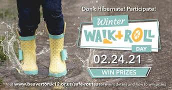 WINTER WALK + ROLL DAY -- FEBRUARY 24