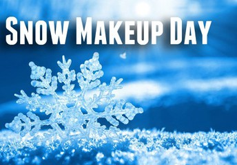 Make-up Day ~ Monday, January 21, 2019