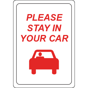 Adults and Pets Stay in the Car