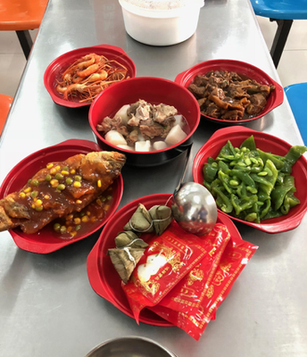 Special food for students who take Zhong Kao