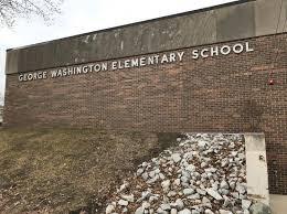 Trip to George Washington School - May 14