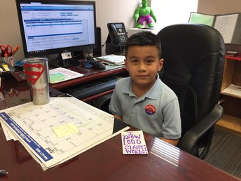 Luis Velásquez principal of the Day!