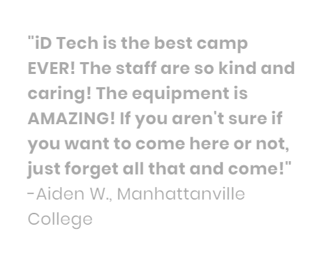 iD Tech Camps @ Manhattanville | Smore Newsletters for Business