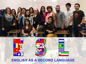 Adult English as a Second Language (ESL) classes