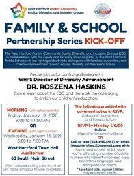 Family & School Partnership Series Kick-Off