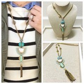Totem Tassel Pendant with 3 ways to wear! Was £65 now £35