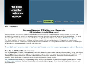 Global Collaboration Conference in November