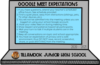 Google Meet Expectations