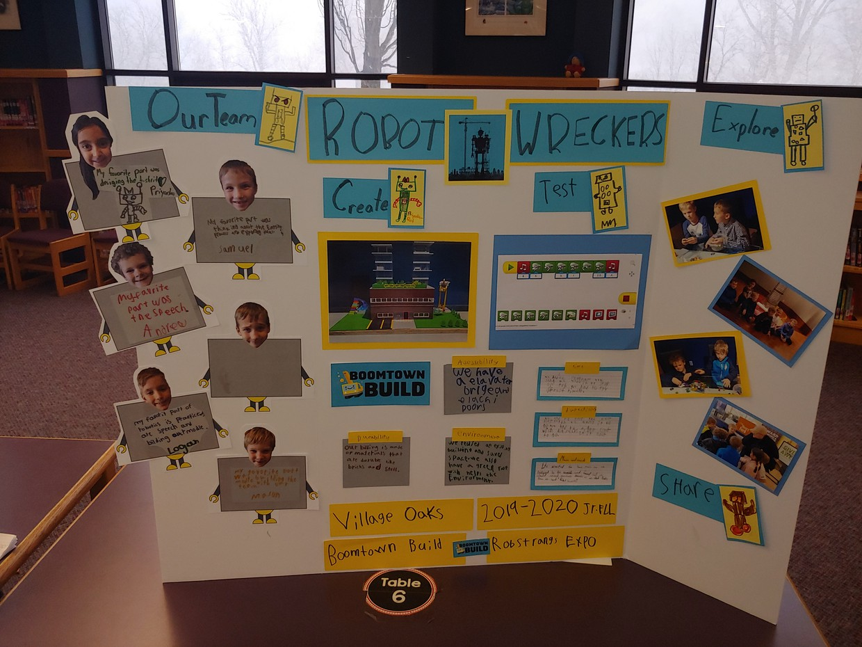 VO Robotics Team Poster