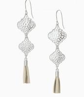 Plait Drop Earrings - SOLD