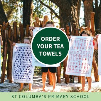P&F Tea Towel Fundraiser - order close today