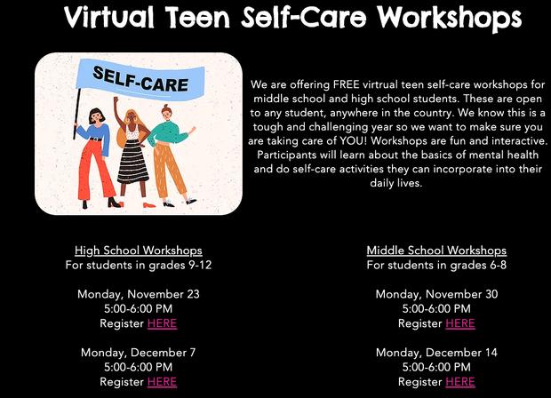 Self-Care Virtual Workshop