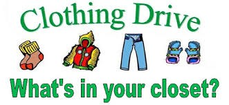 Let's Stock Up the Clothing Closet at CHS!