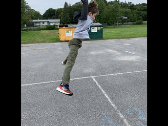 This boy can jump!