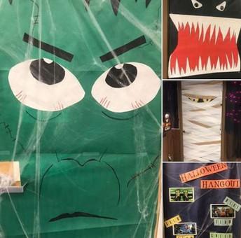 Halloween Door Competition