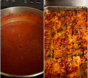 Lasagne originated in Italy during the Middle Ages