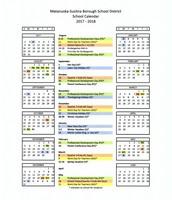 SCHOOL CALENDAR 2017/2018