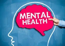 brain with mental health written in it