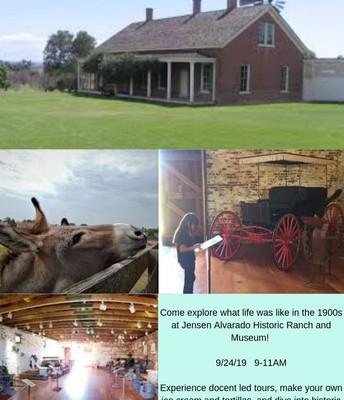 Jensen Alvarado Historic Ranch and Museum