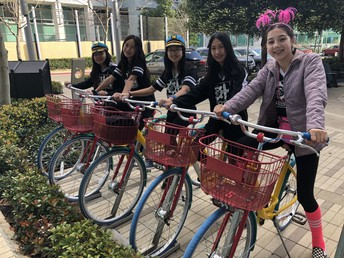 Robohawks on Bikes at Google Signature Event