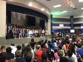 La representación del coro