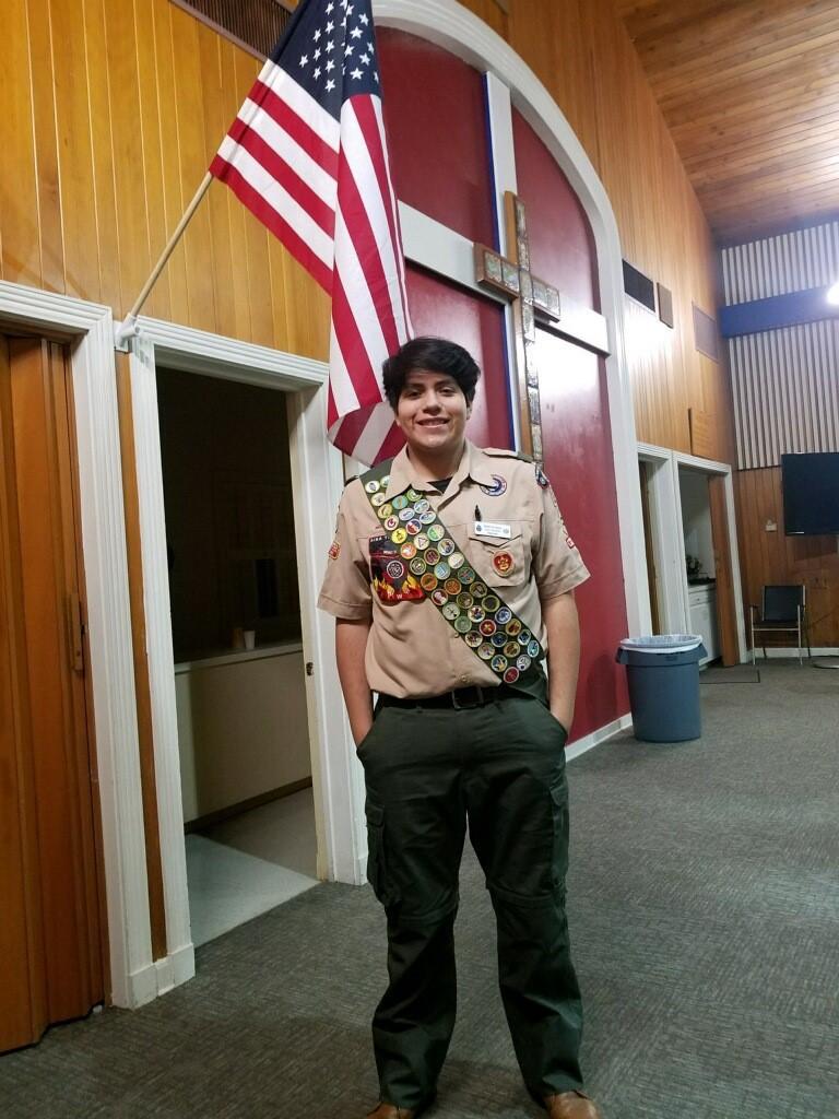 Osbaldo Iracheta Eagle Scout Project Troop 31