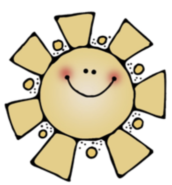 yellow sun with smiley face