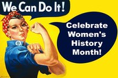 Check out Women's History Month book display