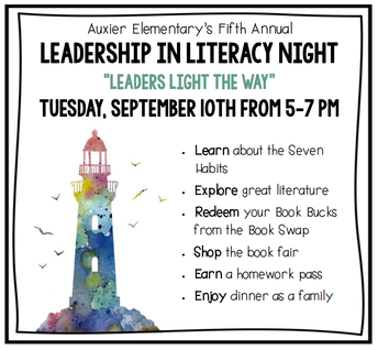 Leadership in Literacy Night