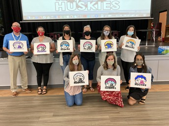 We Welcomed 8 New Huskies in August