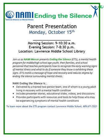 Parent Presentation:  Ending the Silence