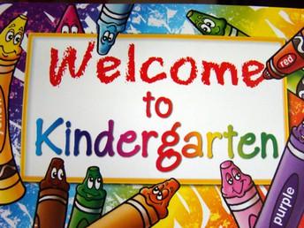 Kindergarten 2020-2021