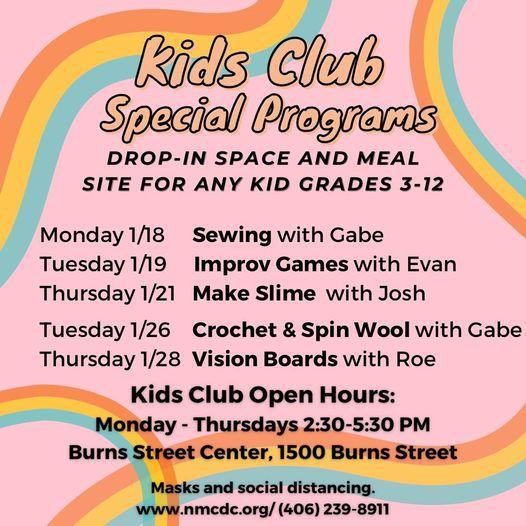 NMCDC Kids Club