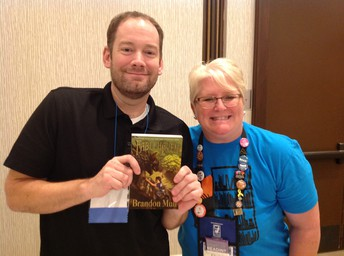 Fablehaven Author, Brandon Mull