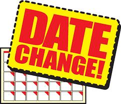 CONCERT DATE CHANGE!!!