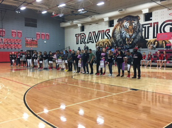Lady Tigers Celebrate the Class of 2019 on Senior Night!