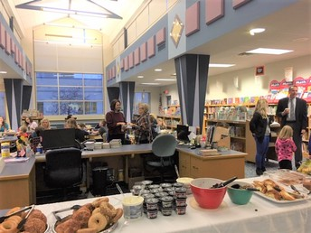 Thank you to the PTA for hosting a celebration