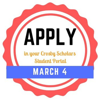 Bigs for Success Scholarship Opens March 4