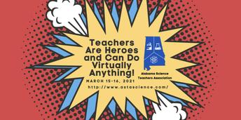Alabama Science Teachers Association (ASTA) Conference: March 15-16