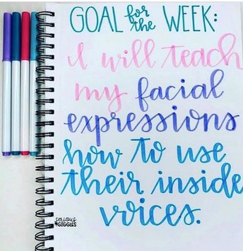 Goal for the Week