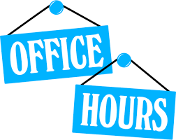 Office Hours This Week