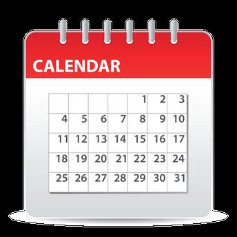 Next Week's Calendar